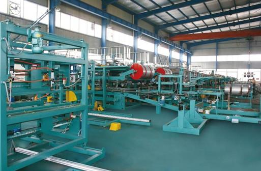 Sandwich Panel Forming Line